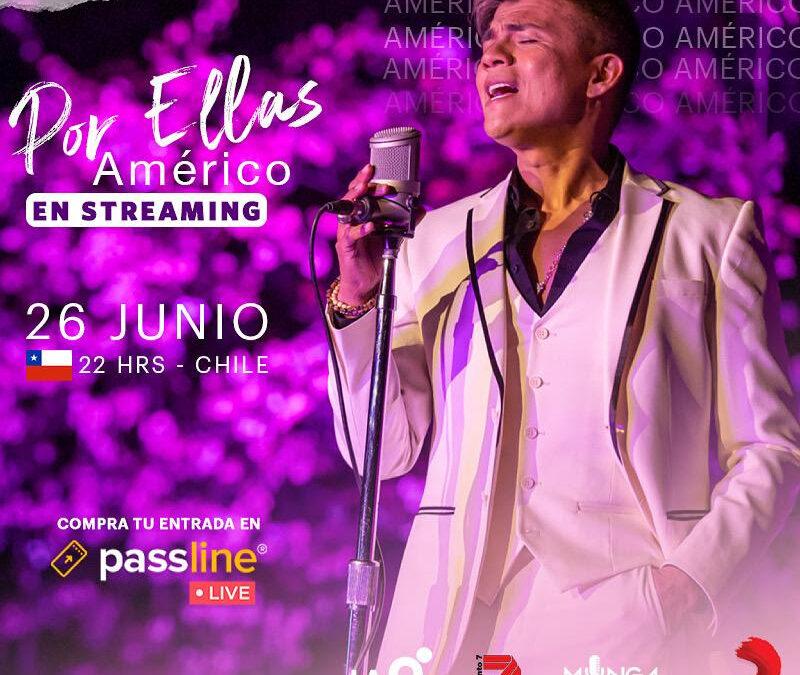 """AMÉRICO anuncia su concierto """"Por Ellas"""""""